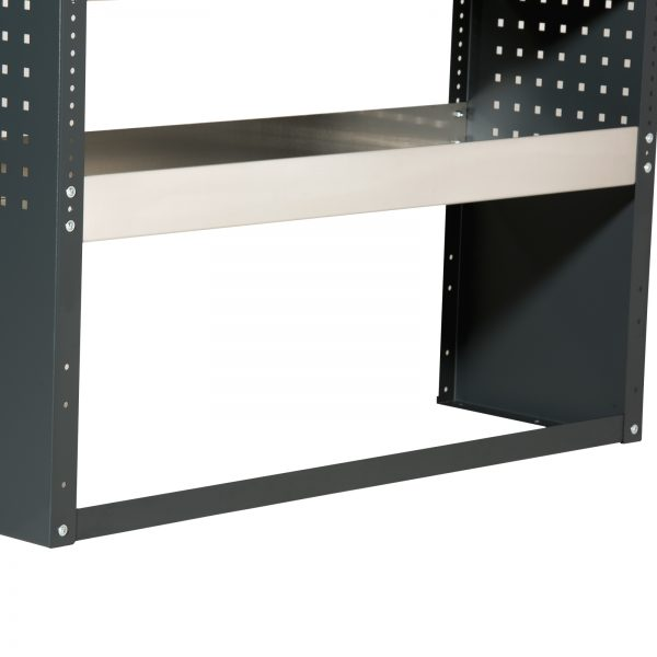 "Bodenstrebe Stahl grau ""Professional"" Länge: 450mm"