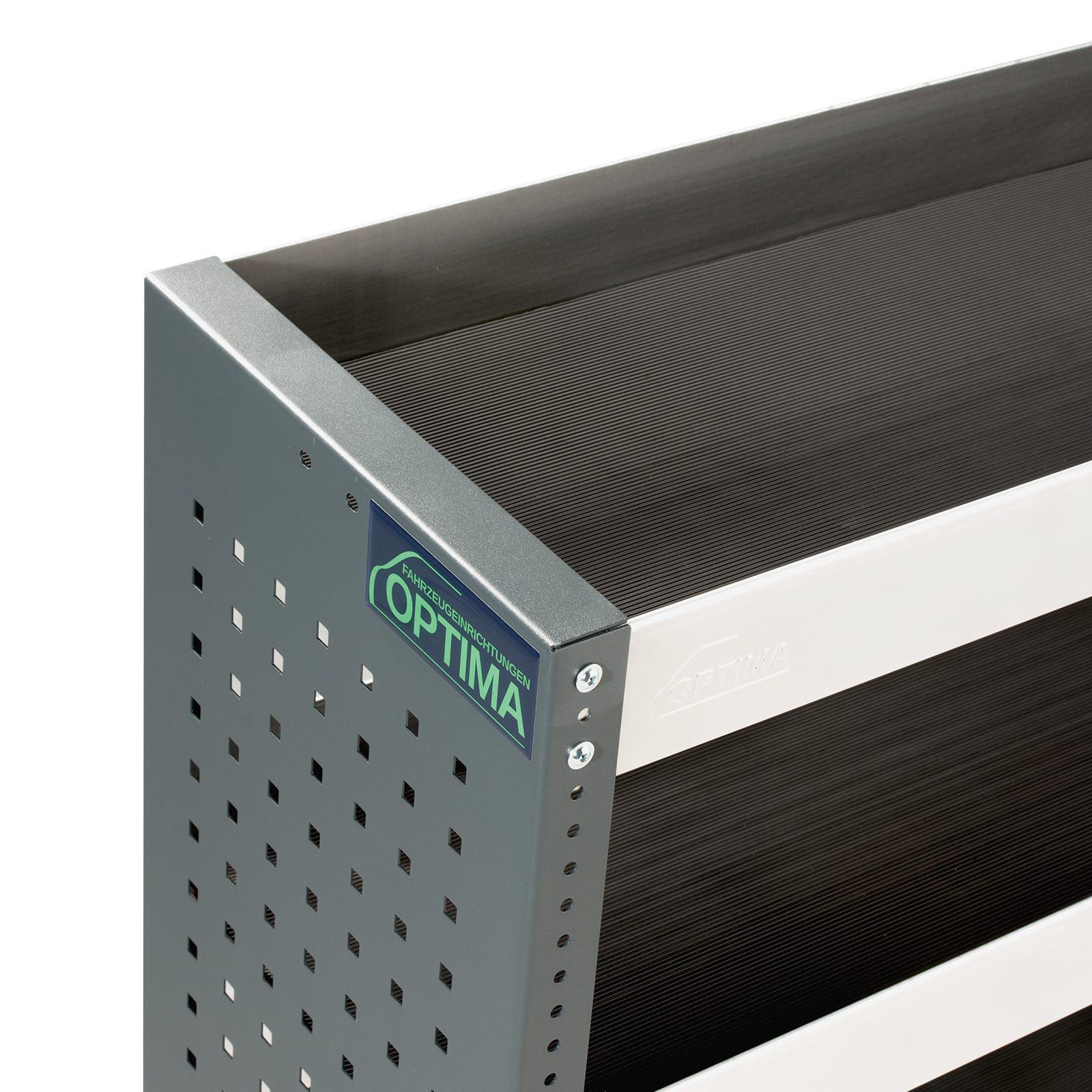 Optima-Fahrzeugeinrichtungen-Regal-Stahl-Verarbeitung-Aluminium-Stahl-grau-dreistufig-professional-450x1250x350mm-mit-Antiruschmatte